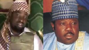 Shugaban Boko Haram Abubakar Shekau da Senata Ali Modu Sheriff tsohon Gwamnan Jihar Borno